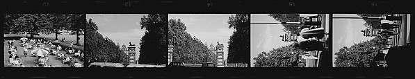 [5 Views of a Park and Stone Gate, Possibly England]