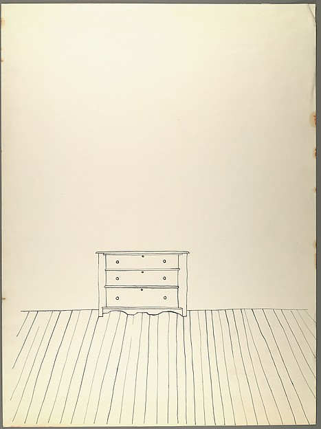 Wood Line Drawing