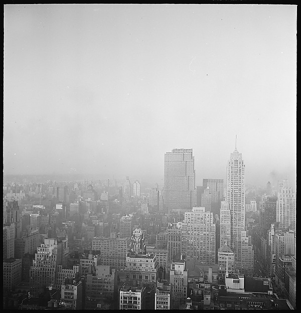 [12 Views of New York City Skyline and Painting by Walker Evans]