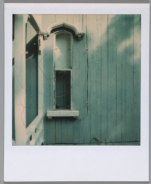 [Window of White Clapboard House--FRAMED OBJECT (Needs full cataloguing)]