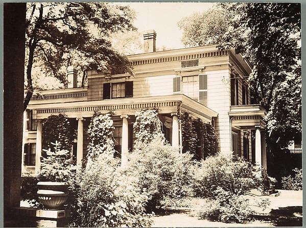 [Greek Revival House, Greenfield, Massachusetts]