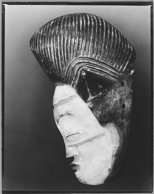 [Mask (Profile), French Congo]