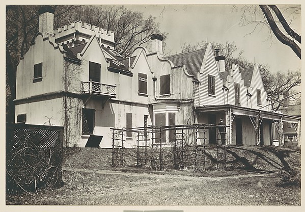 [Rear View of Gothic Revival House, Former Residence of William Hickling Prescott, Swampscott, Massachusetts]