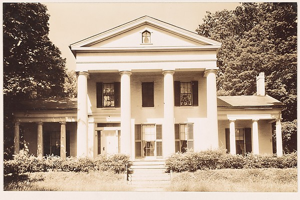 [Greek Revival House with Full-Façade Entry Porch, Haydenville, Massachusetts]