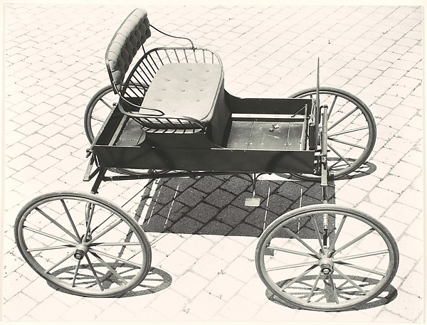"[""Buckboard"" Carriage in the Collection of Oliver Jennings]"