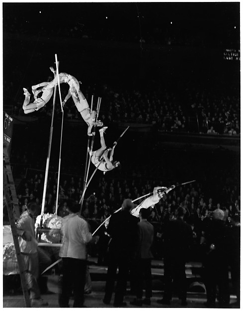 [Pole Vault, Boston Garden]