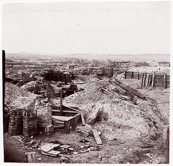 Confederate Fortifications, Petersburg