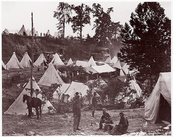Military Railroad Camp, City Point, Virginia