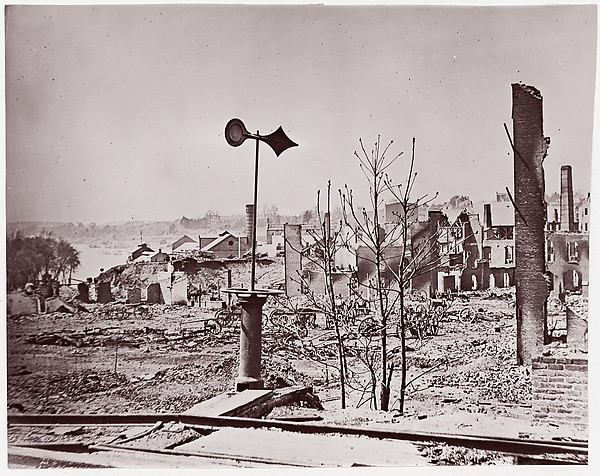 Richmond, Virginia, after Evacuation