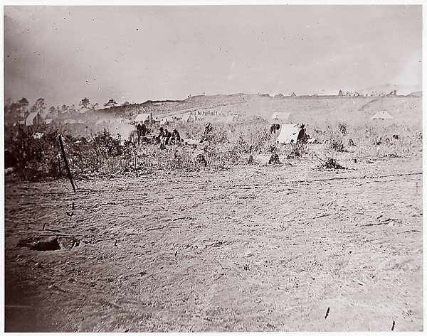 Distant View of Fort Brady