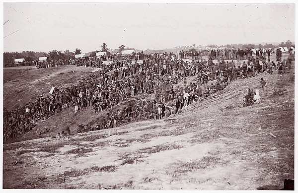 Confederate Prisoners at Belle Plain