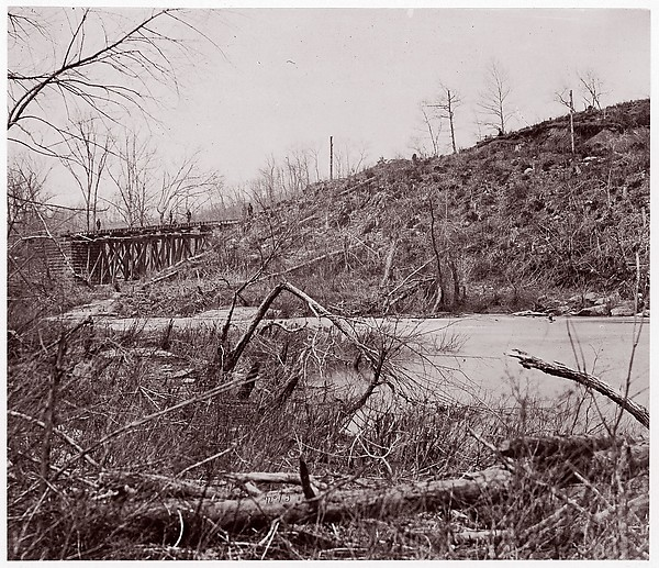 Bull Run. Bridge near Union Mills (destroyed seven times)