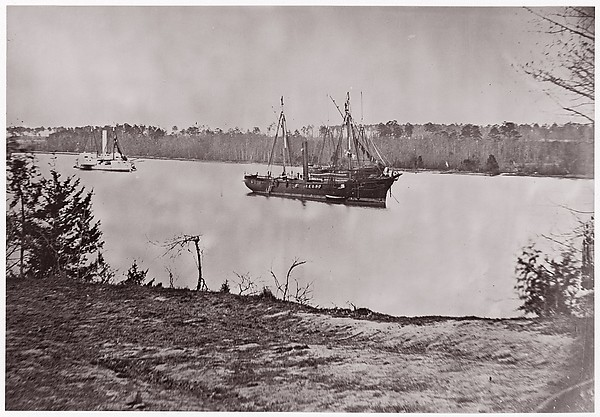 "U.S. Gunboat ""Mendota"", James River"
