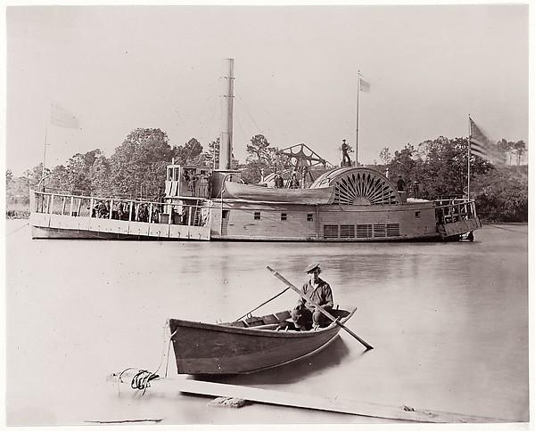 [U.S. Gunboat].  Brady album, p. 161
