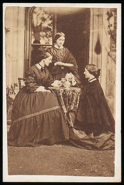 [Three Women at Tea]