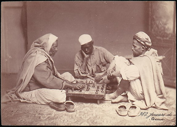 [Men Playing Chess, Damascus]