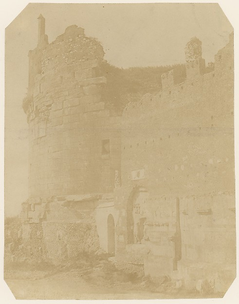 [Ruins of Cecilia Metella, Rome]