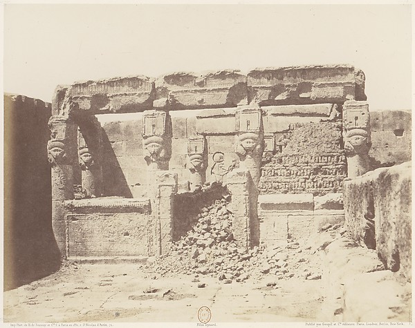 Dendérah (Tentyris), Temple d'Athôr - Sanctuaire Placé a l'Angle Sud-Ouest de la Plateforme Inférieure