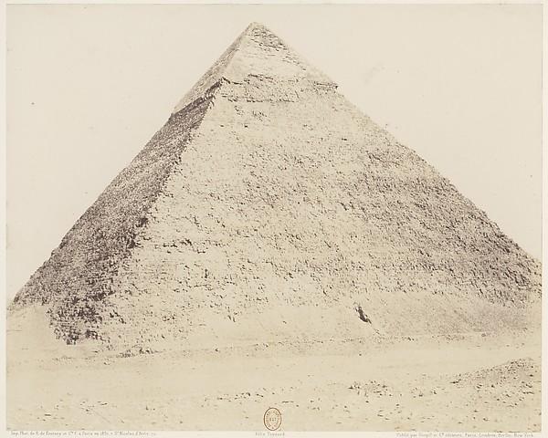 Djîzeh (Nécropole de Memphis), Pyramide de Chéphren