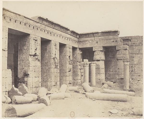 Médînet-Abou (Thèbes). Constructions Postérieures - Deuxiéme Cour