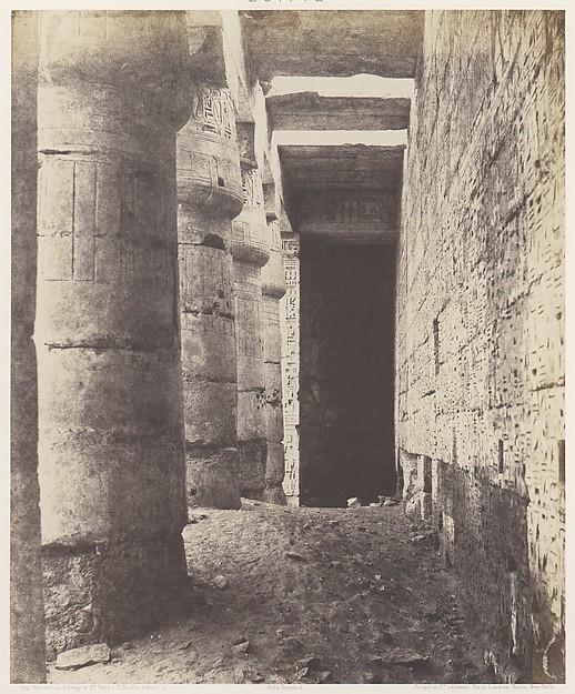 Médînet-Abou (Thèbes), Construction Postérieures - Deuxiéme Cour - Galerie Sud-Ouest