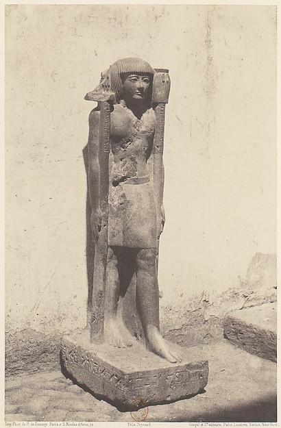 Syout (Lycopolis), Statue Appartenant au Docteaur Cuny