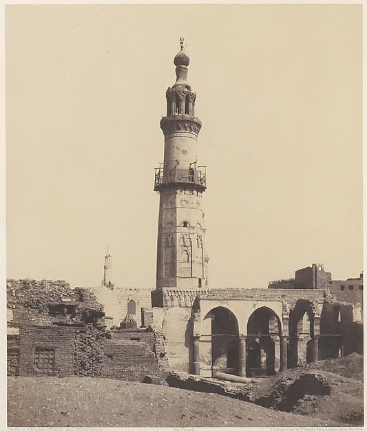 Djirdjeh, Mosquée en Ruines Sur le Bord du Nil