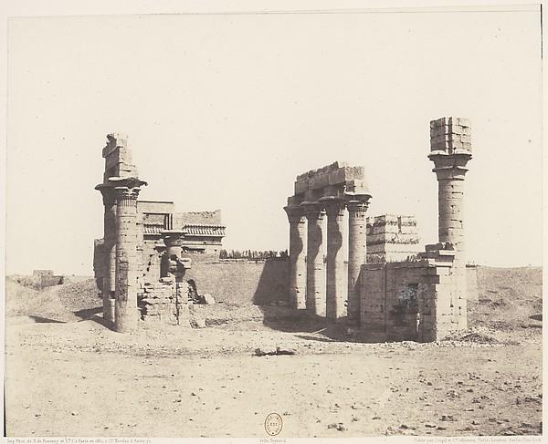 Erment (Hermonthis), Vue Générale des Ruines -Temple et Mammisi