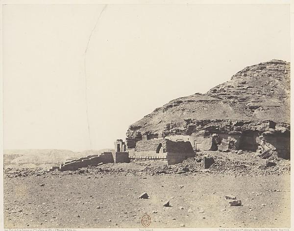 El-Kab (Éléthya), Vue Générale de l'Hémi-Spéos
