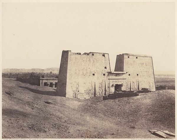 Edfou (Apollonopolis Magna), Vue Générale du Temple