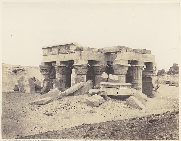 Kôm-Ombou (Ombos), Vue Générale des Ruines