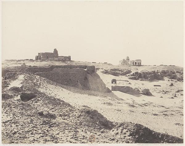 Assouan, Ruines de l'Ancienne Enciente Arabe, au Sud-Est de la Ville