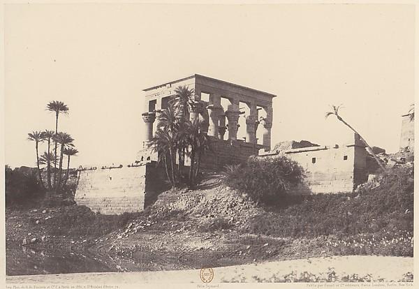 Ile de Fîleh (Philæ), Édifice de l'Est - Vue Générale Prise du Point C
