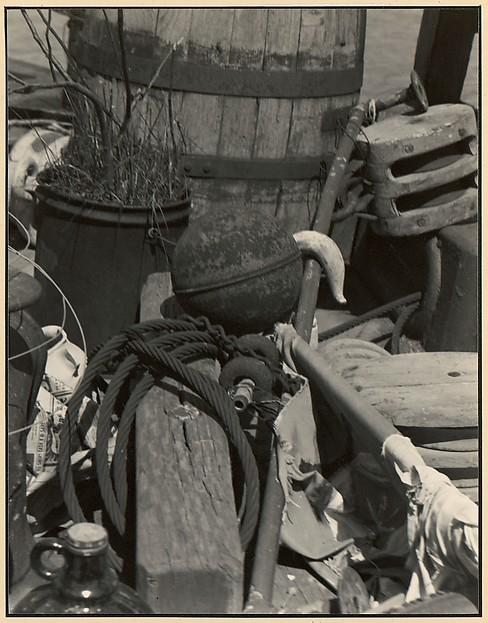Aft-Deck of Varda's Houseboat