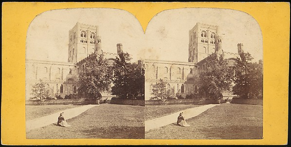 [Group of 16 Early Stereograph Views of British Abbeys]