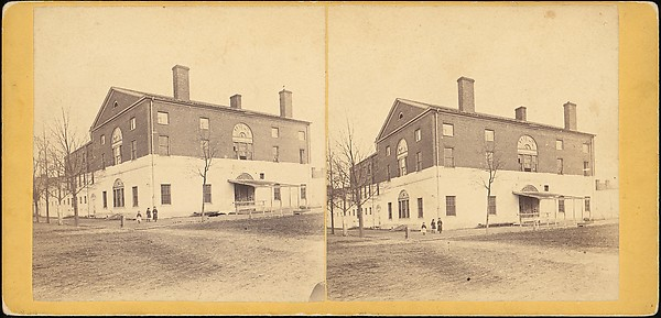 Fascinating Historical Picture of Unknown with [Group of 3 Stereograph Views of Connecticut United States of America] in 1850