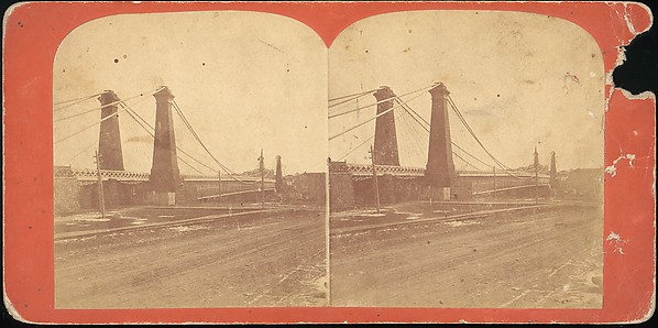 [Group of 23 Stereograph Views of Railroad Bridges]