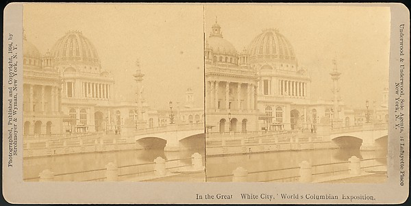[Group of 66 Stereograph Views of the 1893 Chicago World&#39;s Fair and Columbian Exposition]