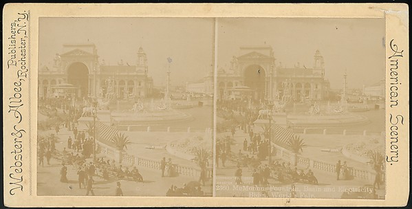 [Group of 66 Stereograph Views of the 1893 Chicago World's Fair and Columbian Exposition]