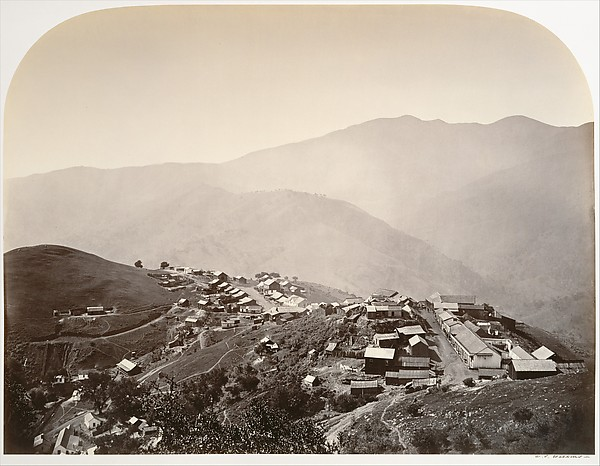 The Town on the Hill, New Almaden