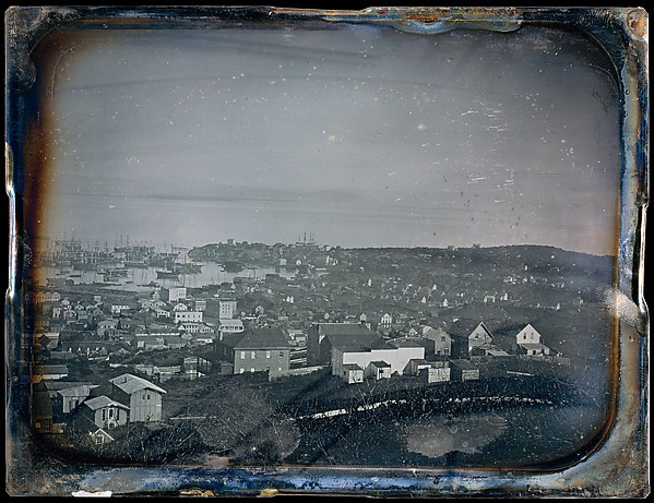 Fascinating Historical Picture of Unknown with San Francisco in 1850