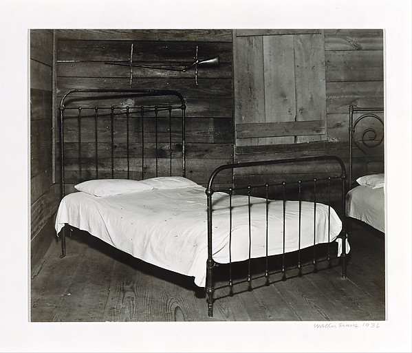 [Part of the Bedroom of Floyd Burroughs's Cabin, Hale County, Alabama]