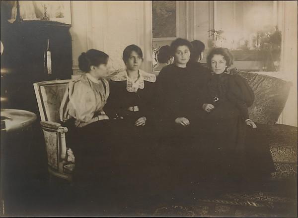 Paule Gobillard, Jeannie Gobillard, Julie Manet, and Geneviève Mallarmé