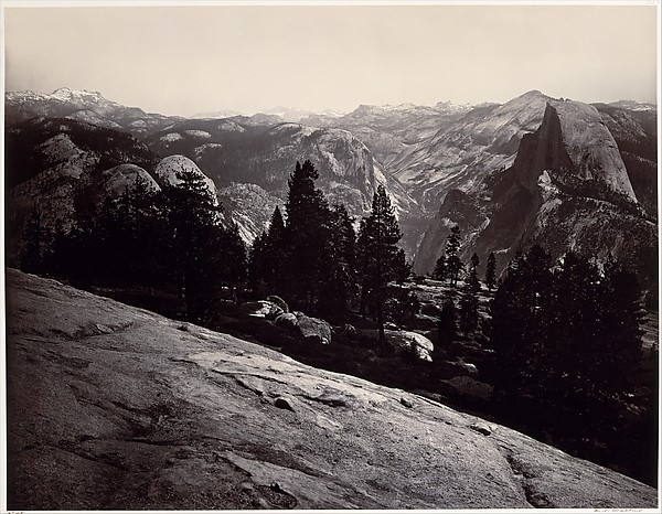 View from the Sentinel Dome, Yosemite