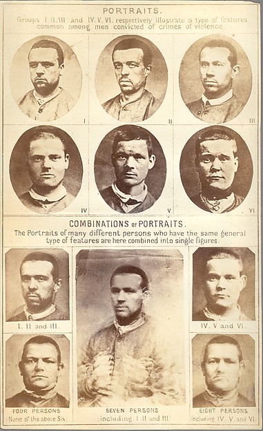 [Composite Portraits of Criminal Types]