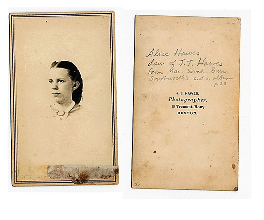 [Collection of 221 Carte de visite Portraits by Josiah Johnson Hawes and Other Artists]