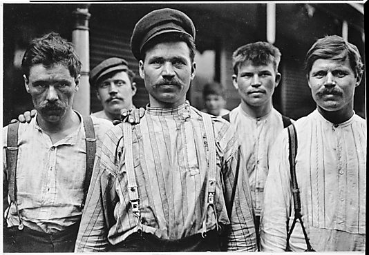 Russian Steelworkers, Homestead, Pennsylvania