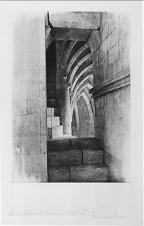 Lincoln Cathedral: Stairway in Southwest Turret