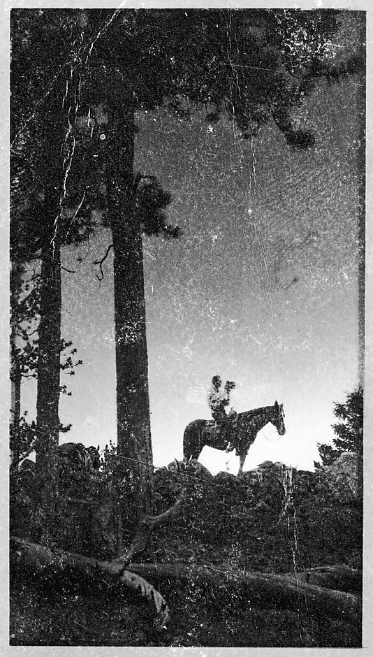 Steichen on Horseback