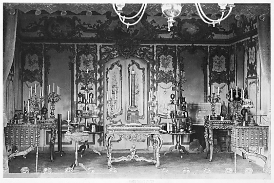 [Interior of Marionette Theater, Bois de Boulogne, Paris]